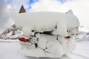 Lofoten's truck