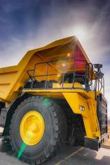 Vertical large haul truck