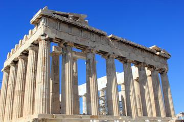 the Parthenon on Acropolis
