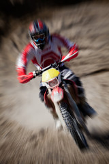 Wall Mural - motocross - zoom
