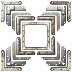 Fototapete - Metal corners