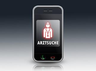 """Smartphone """"Arztsuche"""""""