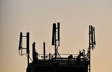Antennas for cell phones