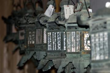 Lanterns, Nara, Japan