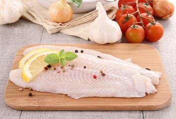 Fototapeten Fisch raw fish