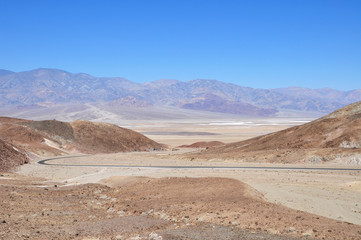 Artists Drive, Death Valley National Park, California, USA.
