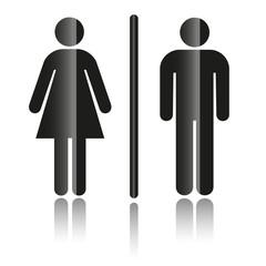 Symbol Mann & Frau