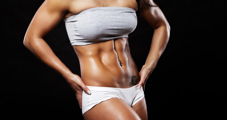 Image of muscle women