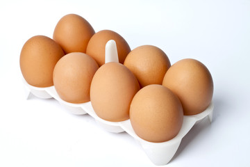 8 eggs in a package