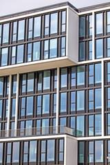 Moderne Architektur in der Hafencity, Hamburg