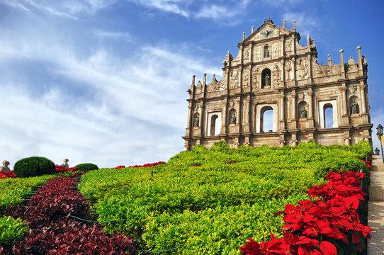 Saint Paul's Ruins in Macau