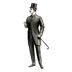Homme du 19ème siècle