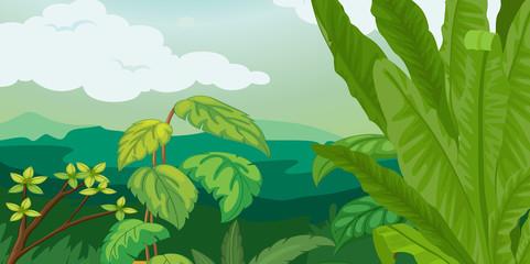 lush plant life
