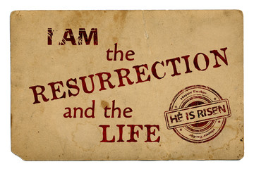 """""""I am the resurrection and the life"""" Religious Background"""