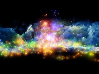 Worlds of fractal foam