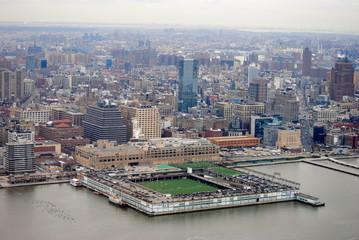 New York City Skyline - Baseball in Manhattan