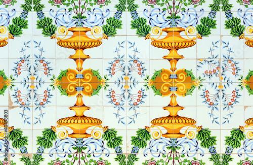 Z calo de azulejos vintage fotos de archivo e im genes libres de derechos en - Azulejos vintage ...