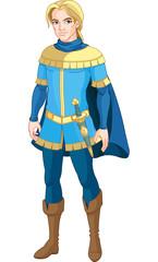 Printed kitchen splashbacks Fairytale World Brave Prince