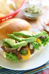 Mexican Beef Sandwich