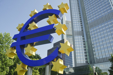 European Central Bank in frankfurt..