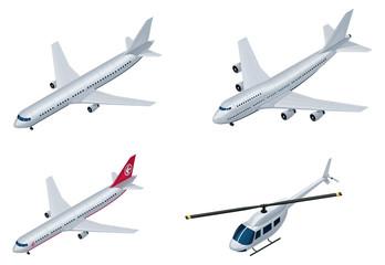 Vector isometric airplanes