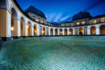 Foto auf Acrylglas Schloss Barocke Architektur
