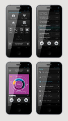 Simple vector template interface for phone