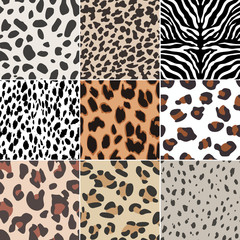 seamless animal swatch