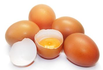 Яйца и скорлупа