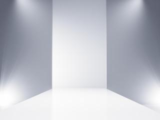empty catwalk