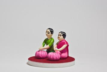 thai wedding doll