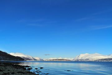 Arctic Fjordscape - low horizon