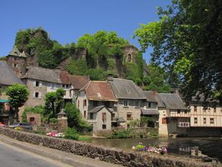 Ségur-le-Château ; Corrèze ; Limousin ; Périgord