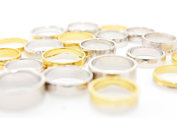different wedding rings