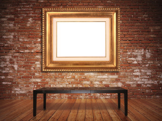 Elegant frame with a rustic background.Insert picture or text