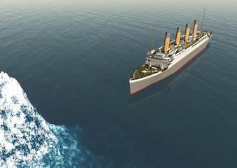 Titanic 100 anni anniversario iceberg