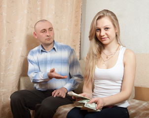 Financial problems in the family