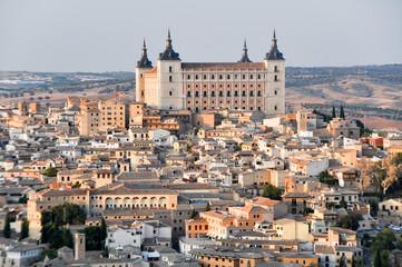 Vista del Alcazar de Toledo (España)