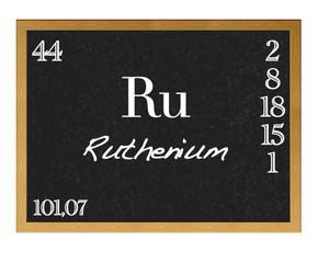 Ruthenium.