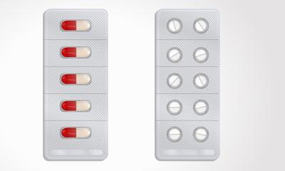 Blister pillole, Pills, Capsule medicine
