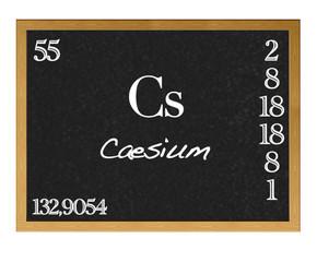 Caesium.