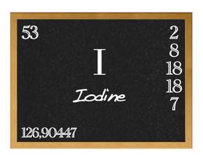 Iodine.