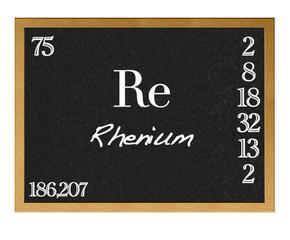 Rhenium.