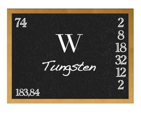 Tungsten.