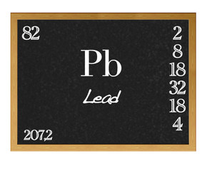 Lead, Pb.