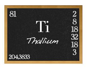 Thallium.