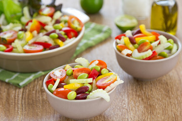 Celery and beans salad