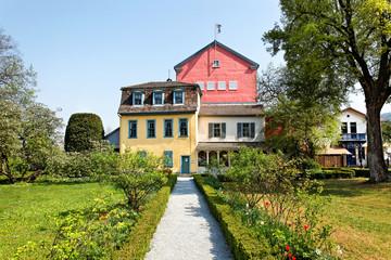 Das berühmte Friedrich Schiller Haus in Jena, Deutschland