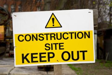 Construction Site - Baustelle