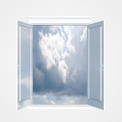 Window to the sky.